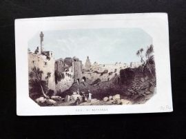 Thomson Holy Land 1863 Antique Print. Pool of Bethesda